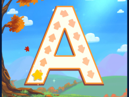 Letter A in Bible ABC's APP